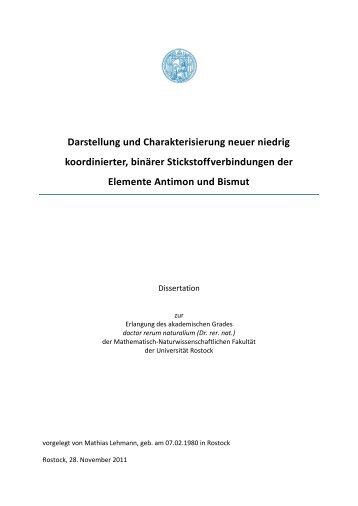 Darstellung und Charakterisierung neuer niedrig koordinierter ...