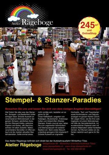 Stempel- & Stanzer-Paradies - Atelier Rägeboge