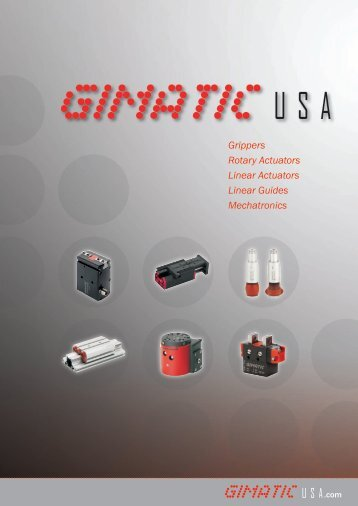 Download the full catalog - GimaticUSA.com