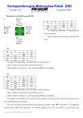 Korespondencyjne Mistrzostwa Polski 2005 - Page 7