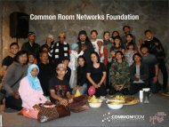 Common Room Networks Foundation - Indonesia Kreatif