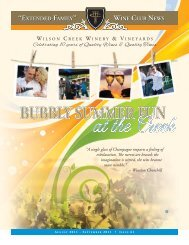 Issue 61 - Wilson Creek Winery