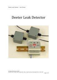 Deeter Leak Detector - Adinco bv