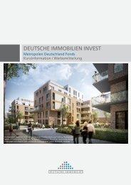 DII Metropolen Deutschland Fonds Kurzinformation - Deutsche ...