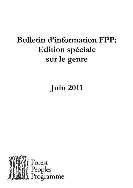 français - Forest Peoples Programme