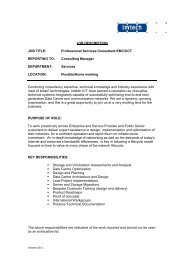PS Consultant EMC-UCS - Imtech