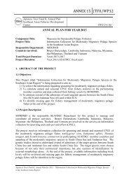 ANNEX 15 JTFII/WP12 - Seafdec