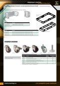 модульные цоколи для наполь- ных шкафов / ролики и ... - Conteg - Page 3