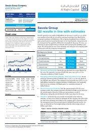 Savola Group Q2 results in line with estimates - Al Rajhi Capital