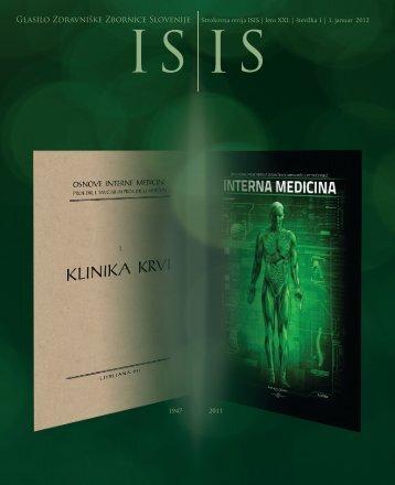 ISIS - Januar 2012 - Zdravniška zbornica Slovenije