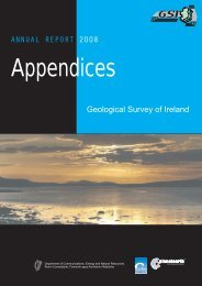 Appendices - Geological Survey of Ireland