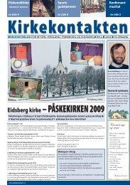 Kirkekontakten nr 2 - Eidsberg - Mysen - Hærland