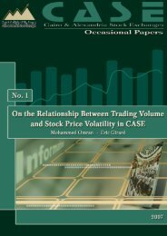 On the Relationship Between Trading Volume and Stock Price ...