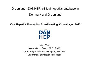 Hepatitis B - Viral Hepatitis Prevention Board