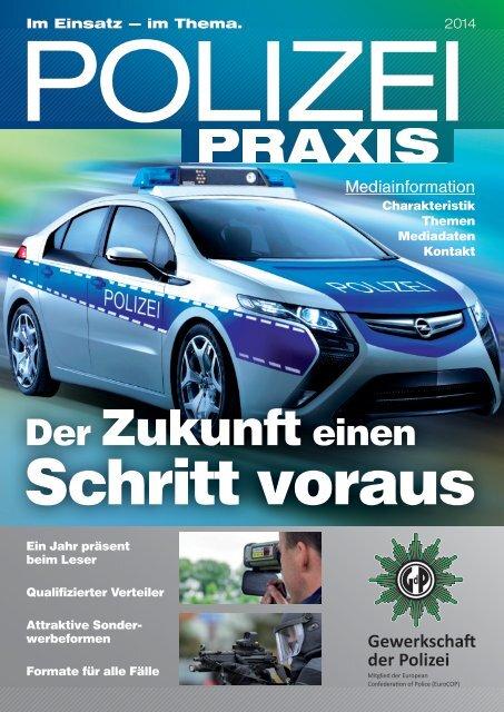 Mediainformationen POLIZEIPRAXIS - Verlag Deutsche Polizeiliteratur