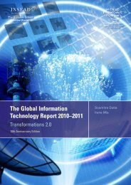 The Global Information Technology Report 2010–2011 - World ...