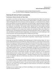 Programm des Workshops 5B als PDF - Lateinamerikaforschung ...