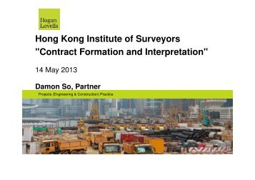 Notes - Hong Kong Institute of Surveyors