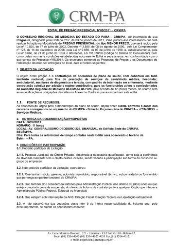Publicado no Diário Oficial de 24/05/2011 - Conselho Regional de ...