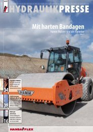 PDF-Download vom Juni 2007 - Hansa Flex
