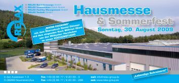 Hausmesse - Relax Group
