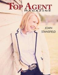 JOAN STANSFIELD - Top Agent Magazine