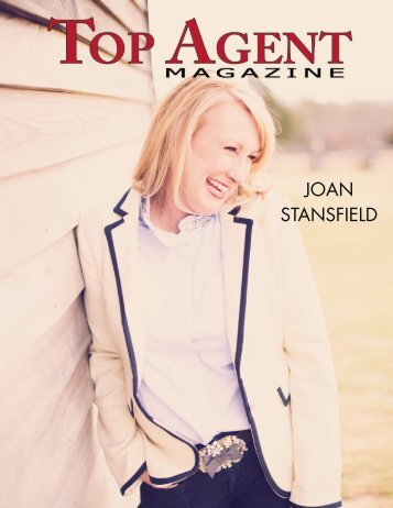 JOAN STANSFIELD - Top Agent Magazine