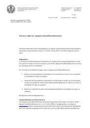Nærmere regler for optagelse på kandidatuddannelsen