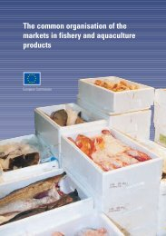 The common organisation of the markets in fishery and aquaculture ...