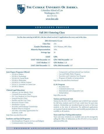 Cua Academic Calendar.90 Free Magazines From Law Edu