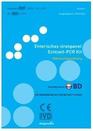 Enterisches virenpanel Echtzeit-PCR Kit - Diagenode Diagnostics