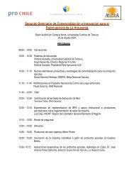 Segundo Seminario de Comercialización e Innovación ... - Apinews