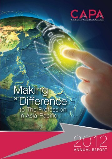 Annual Report 2012 - Confederation of Asian and Pacific Accountants