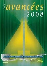 Chocs Avancées 2008 - Max-Planck-Institut für Physik komplexer ...