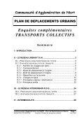 Enquête OD réseau transport 2002 - Communauté d'Agglomération ... - Page 2