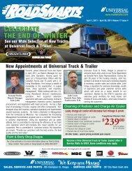 April 1, 2011 - Universal Truck & Trailer