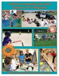 View the 2012 issue here. - Johnston Community School District