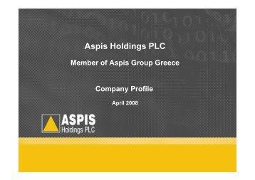 Aspis Holdings PLC
