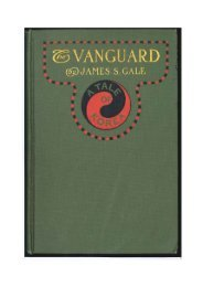 Page 1 Page 2 Page 3 THE VANGUARD | A TALE OF KOREA By ...
