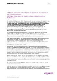 Press release - Equens