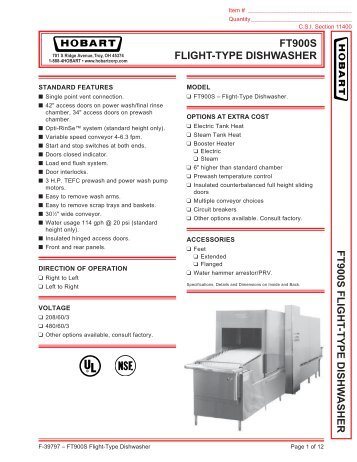ft900s flight type dishwasher hobart?quality\=85 hobart dishwasher wiring diagram ft 900 on hobart download wirning  at bayanpartner.co