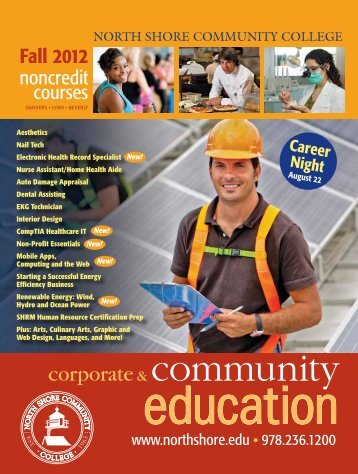 Download - Community Education - North Shore Community College