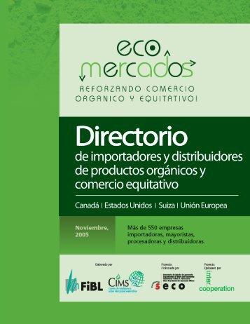 Directorio de importadores y distribuidores - CEI