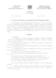 Ordin Nr. 619 din 07.09.2010 cu privire la activitatea serviciului ...