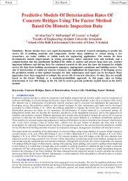 Predictive Models Of Deterioration Rates Of Concrete ... - Test Input