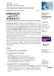 Informationen für Kalendarien - Stiftung Brandenburger Tor