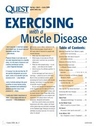 Exercising with a Muscle Disease (PDF) - Muscular Dystrophy ...