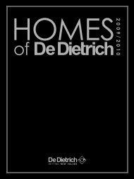 Homes of De Dietrich PDF