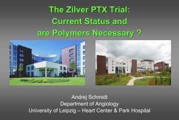 The Zilver PTX Trial - MEET Congress