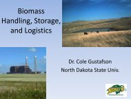 Biomass Handling, Storage, and Logistics - Bioeconomy ...